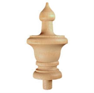 Picture of Classic Finial, Northern Hardwood