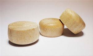 """Picture of 3/8"""" Dia. Northern Hardwood Rounf Head Plugs"""